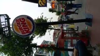 Apak Burger King Totem Tabela | Mini Totem Burger King Oval Tabelası | Totem Burger King Tabelaları