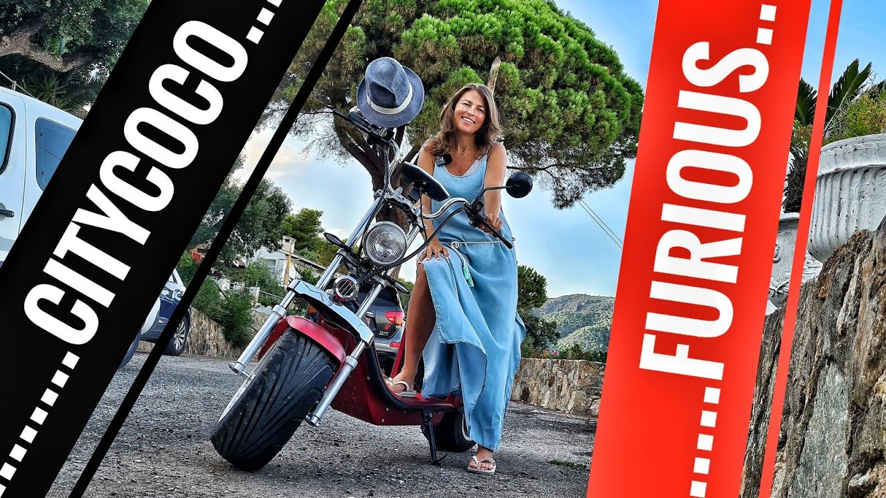 GranScooter CityCoco FURIOUS 4kW 60 km/h eMoped - Vacation Review  - Pickup amongst Mopeds !!!