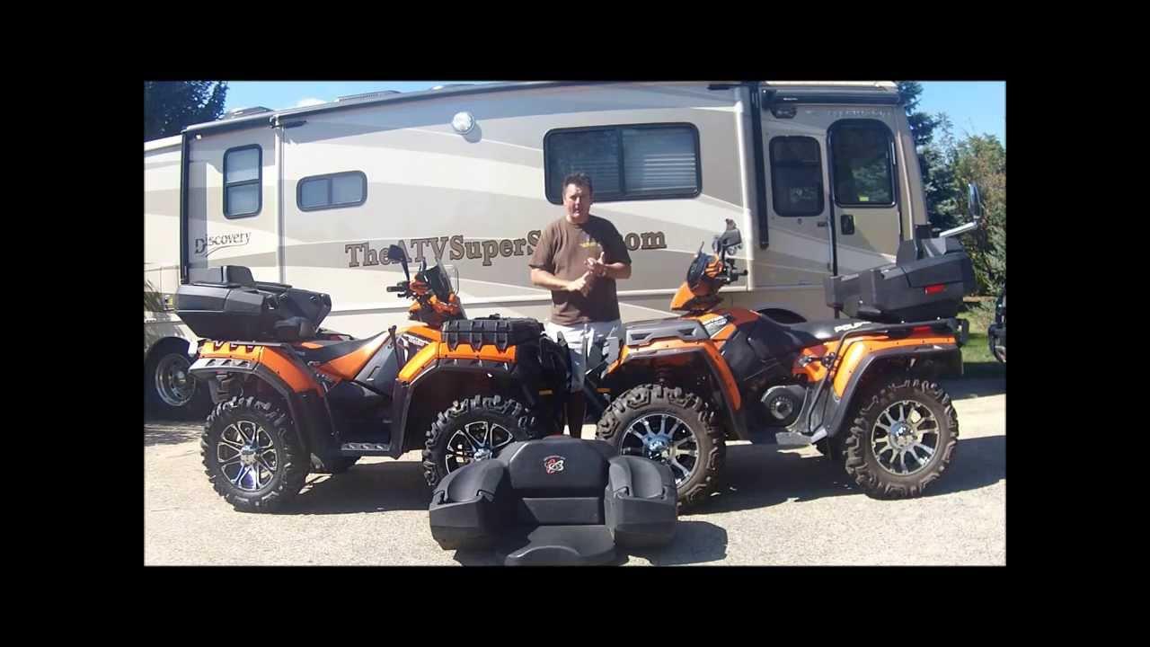 HEY! Looking for an ATV Cargo Box  ATV Rear Seat?