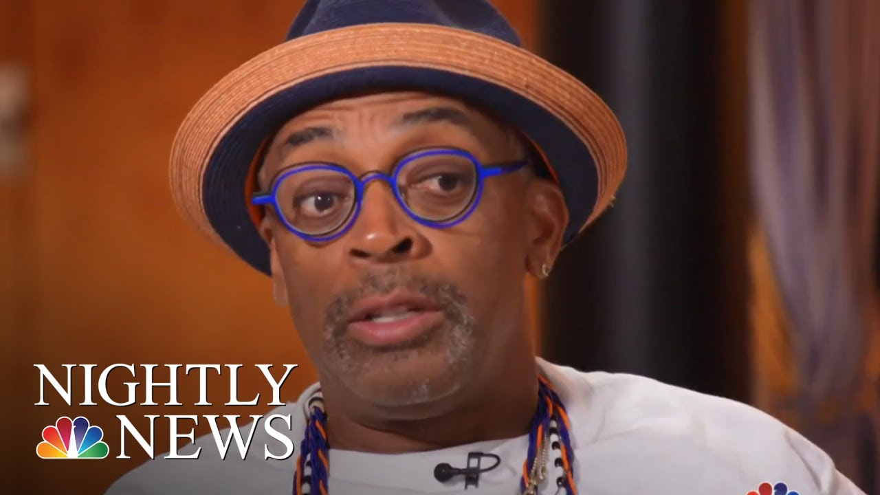 Spike Lee's 'BlacKkKlansman' Opens One Year After Charlottesville | NBC Nightly News