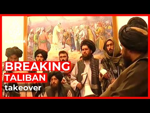 Download Taliban enters presidential palace in Kabul