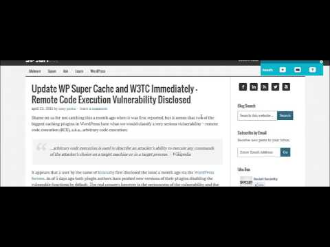 Dan Thies Warns of WordPress Hack: W3 Total Cache, and WP Super Cache