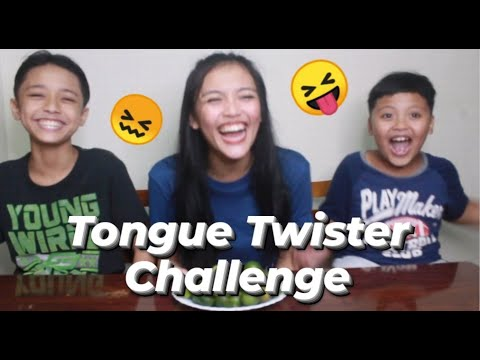 TONGUE TWISTER CHALLENGE | SHAUIE LUSH APONDAR