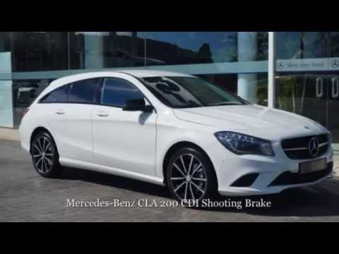 mercedes benz cla 200 cdi shooting brake jha 17215. Black Bedroom Furniture Sets. Home Design Ideas
