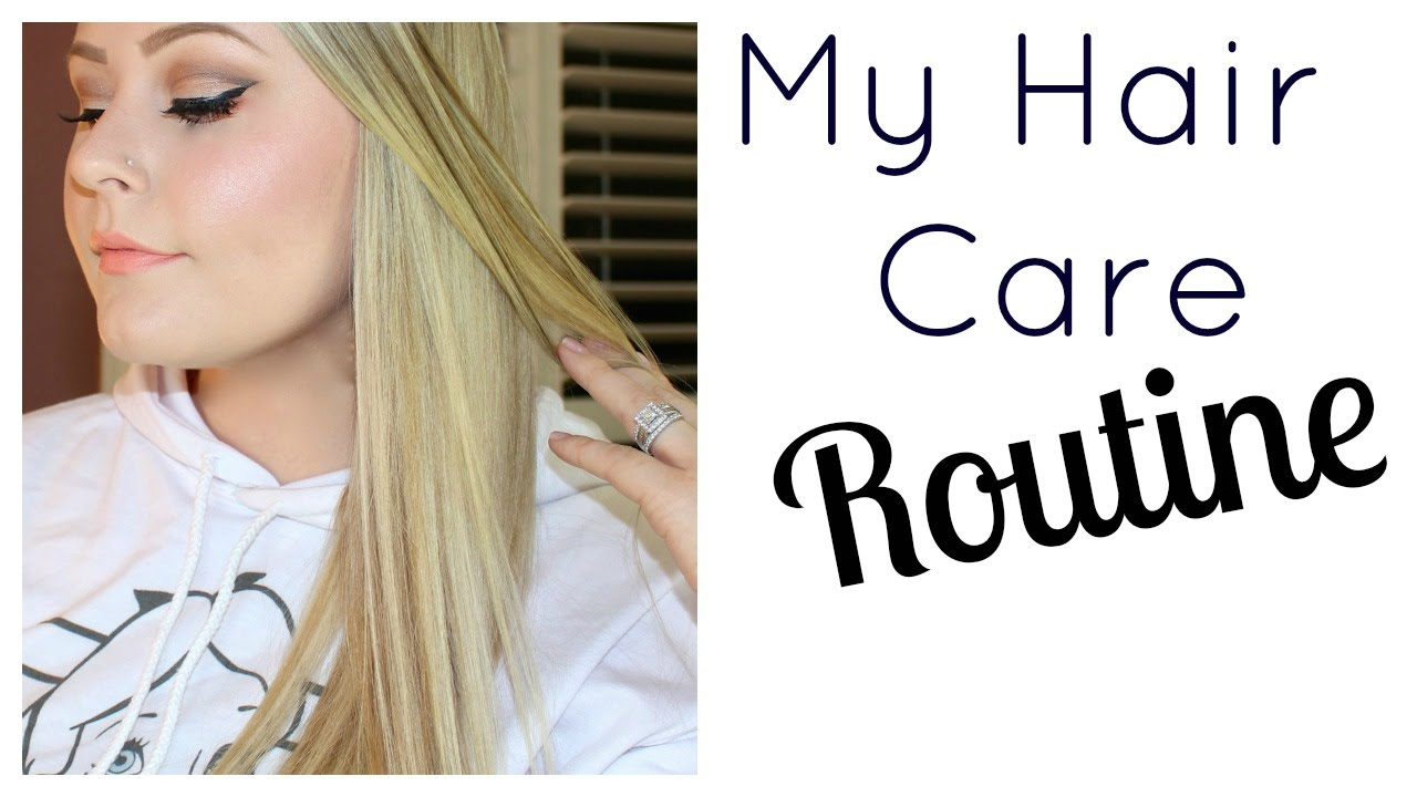 My Hair Care Routine For Healthy Long Best Products Blonde You