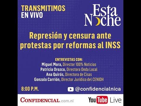 EN VIVO: Protestas en contra de las reformas al INSS