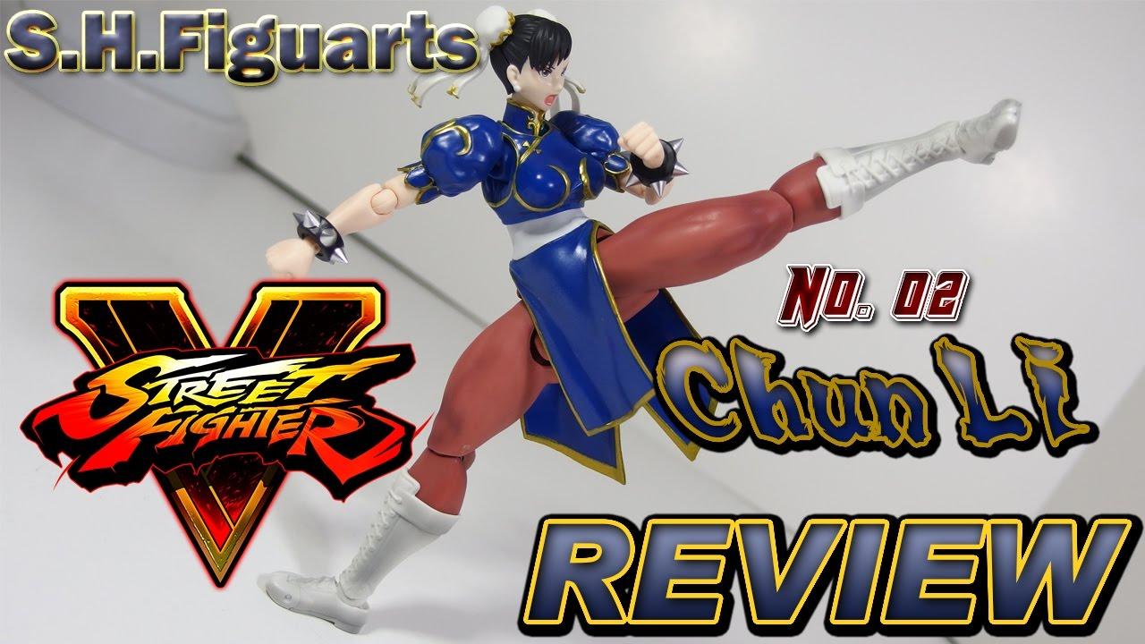 S H  Figuarts Chun Li Street Fighter V Action Figure