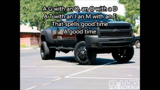 Alan Jackson - Good Time Lyrics Video