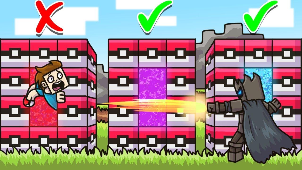 DO NOT Choose The WRONG POKEMON LUCKY BLOCK PORTAL in Minecraft - Lucky  Block Portal Mini-Game