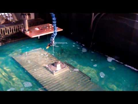 Электроэрозионная обработка пуансона