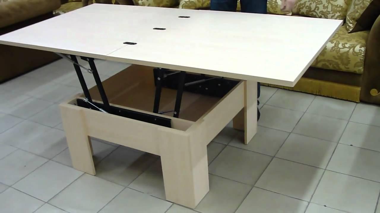 Стол-трансформер СТБ от Стиль-Мебель - YouTube