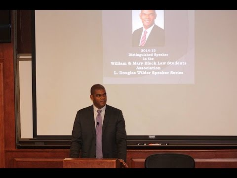 William & Mary BLSA L. Douglas Wilder Speaker Series: Professor Tillman J. Breckenridge