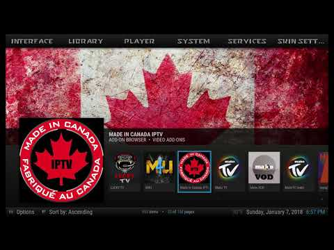 Made in Canada is your best option for watching sports in KODI for 2018