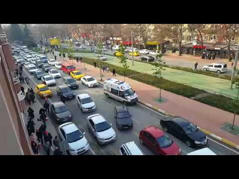 Ambulansın TRAFİK ÇİLESİ