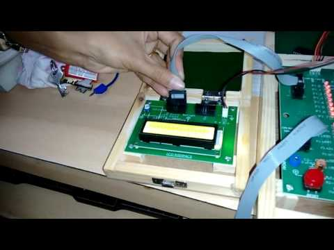 Embedded System practical using LCD