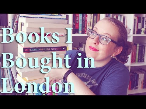 Book Haul | Books I Bought in London!