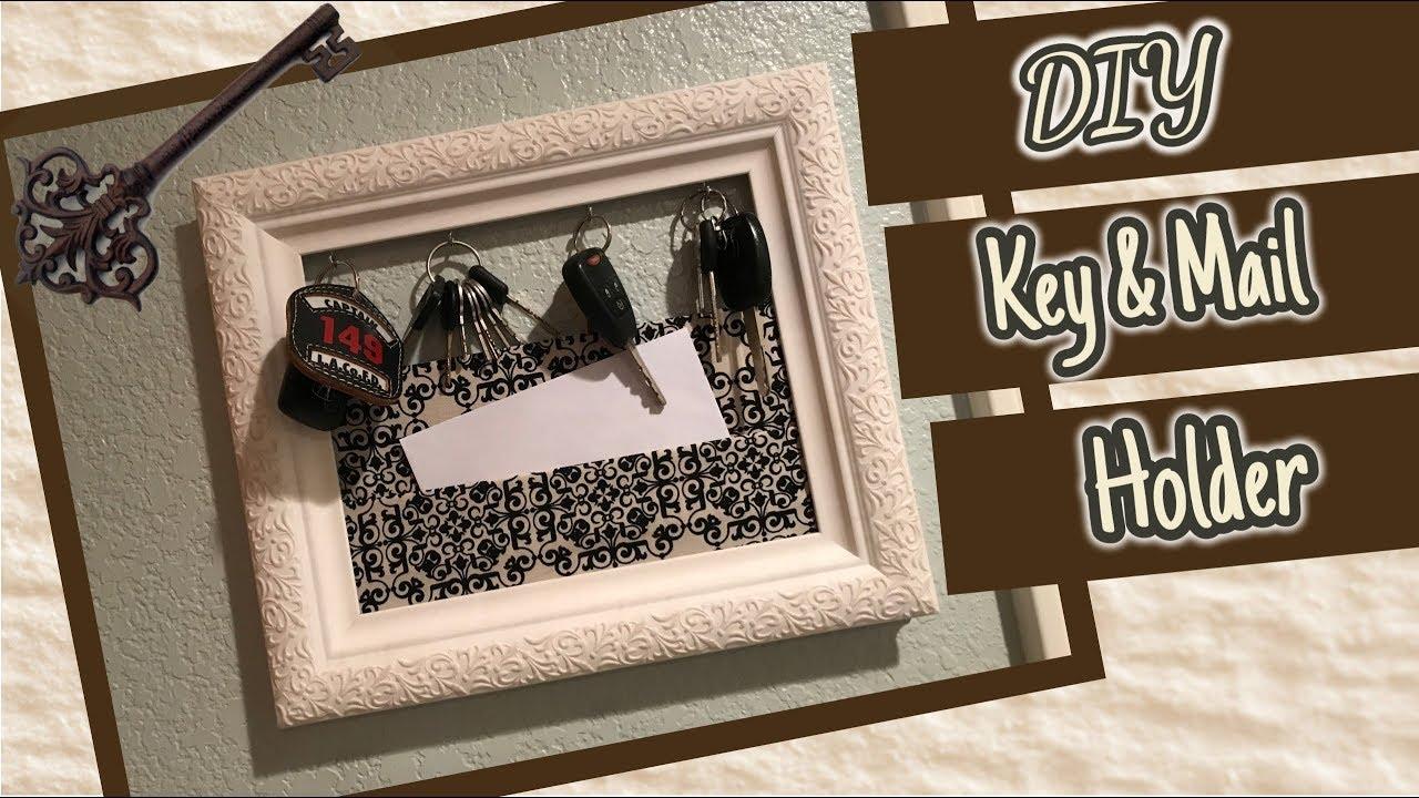 DIY Mail/Key Holder | Key Rack
