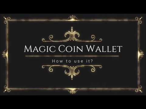 [Instruction] Magic Coin Wallet - How to use it?