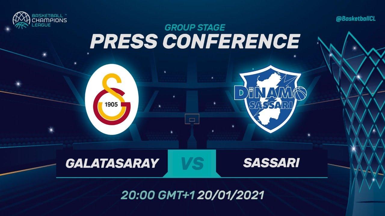 Galatasaray v Dinamo Sassari - Press Conference