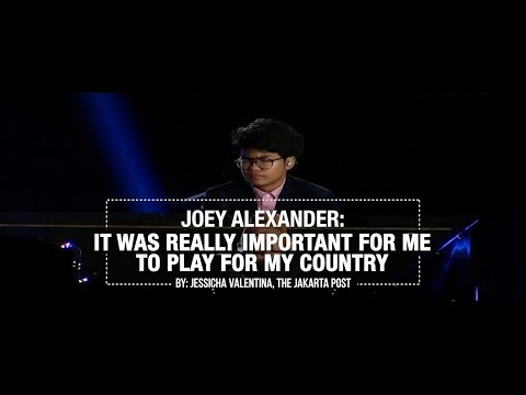 Joey Alexander Spreads Joy Through Music