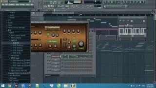 FL Studio - Beautiful Bamboo Flute - Title: Trails Of Angels (綠野仙蹤)