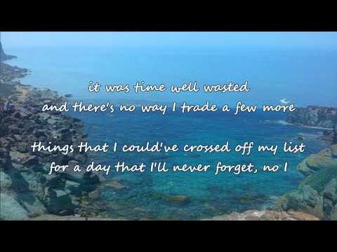 Brad Paisley - Time Well Wasted (with lyrics)