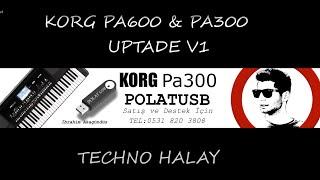 Korg Pa300 POLATUSB UPTADE V1 - Yeni Ses ve Ritimler