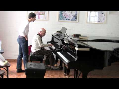 Dimitri Bashkirov - Master Class in Berlin: Asen Tanchev 1/2