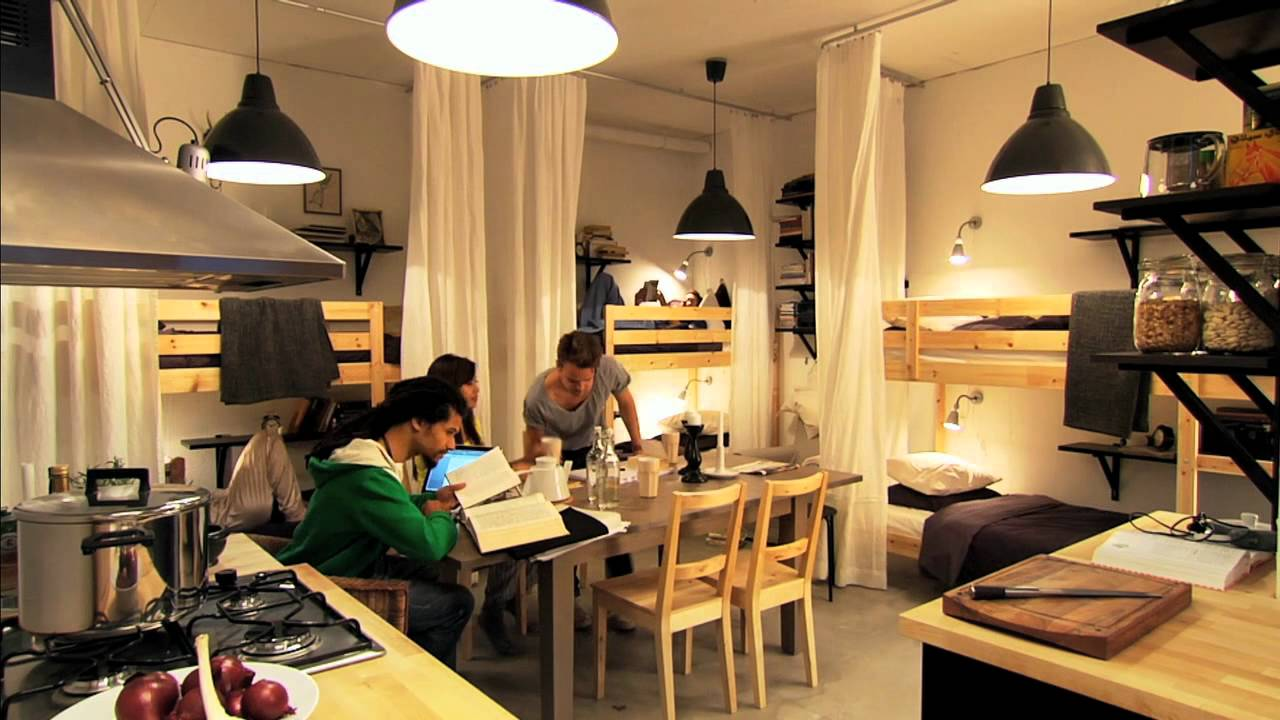 Ikea small spaces small ideas youtube for 35m2 apartment design