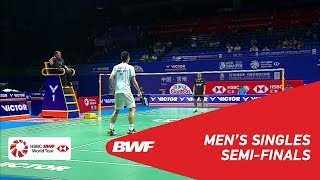 SF | MS | Anthony Sinisuka GINTING (INA) vs CHOU Tien Chen (TPE) [5] | BWF 2018