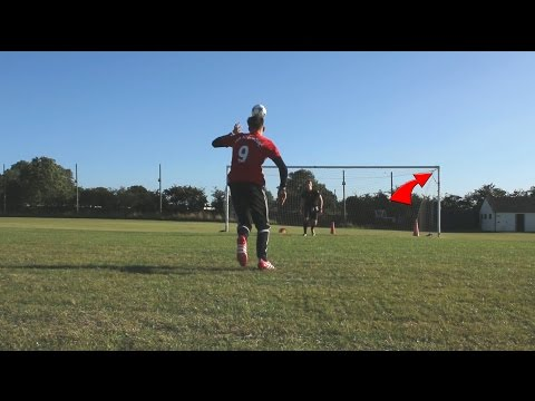 ZLATAN IBRAHIMOVIC MANCHESTER UNITED  PREMIER LEAGUE SHOOTING CHALLENGES