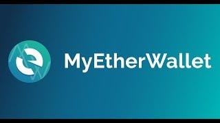 MYETHERWALLET - kompletní návod + jak přidat ICO cz sk