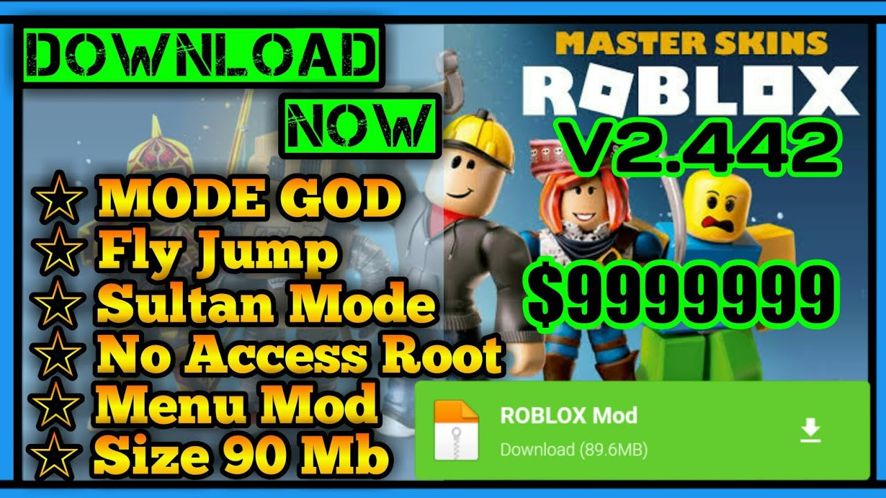 Roblox Mod Apk 2020 Update Free Download Android Ios Youtube