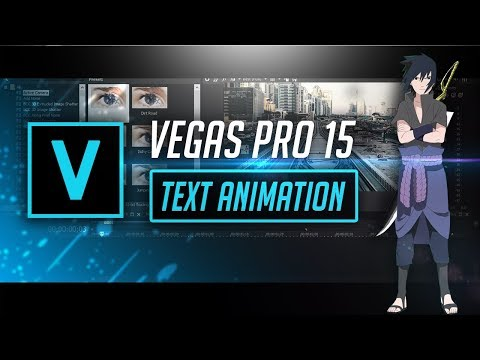 Vegas Pro 15 | Basic Text Animation Tutorial