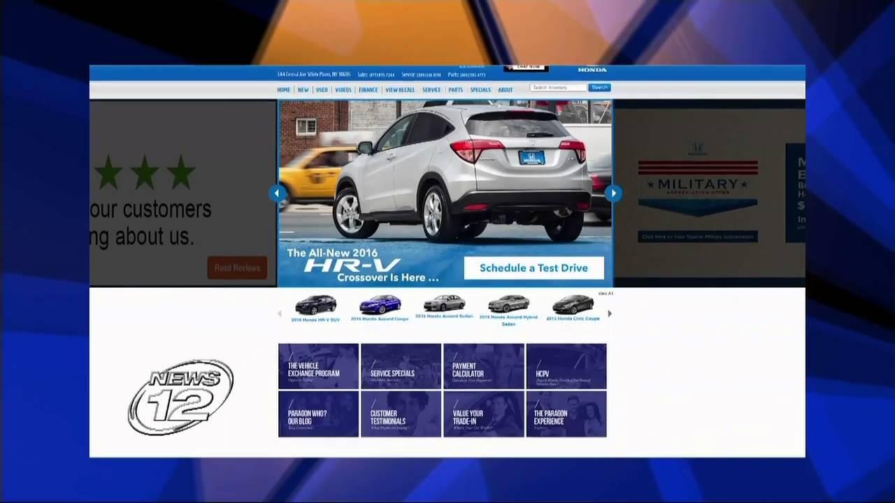 Scam Alert At Paragon Owned Dealers, Paragon Honda, Paragon Acura And White  Plains Honda