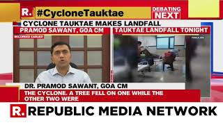 Cyclone Tauktae Begins Landfall On Gujarat Coast; Claims 18 Lives In 3 States