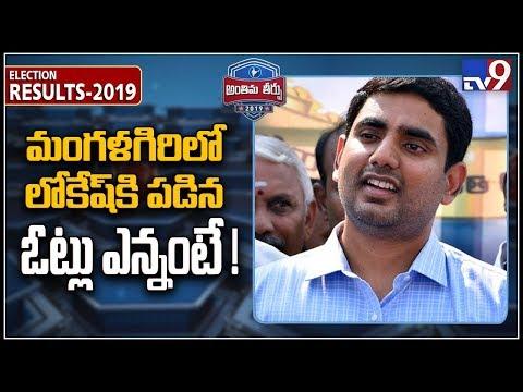 Nara Lokesh close to getting defeated in Mangalagiri - TV9