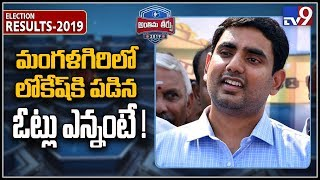 Nara Lokesh close to getting defeated in Mangalagiri - TV9
