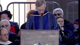 President David Oxtoby - Commencement Senior Class Charge at Pomona College - May 19, 2013