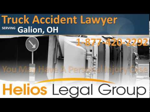 Galion Truck Accident Lawyer & Attorney - Ohio