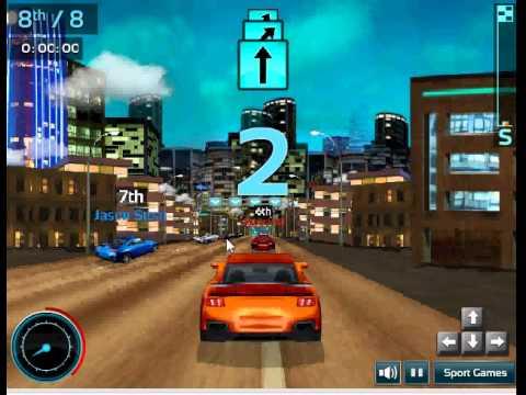 Game đua oto 3d 3 – Đua xe tốc độ cao