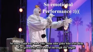 [Eng-Vietsub] Chú hề Puddles Pity Party rơi nước mắt sau khi kết thúc bài hát cảm động: America's GT
