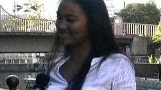 Crystal Kay talks a little a bit about being an artist in Japan.