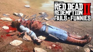 Red Dead Redemption 2 - Fails & Funnies #25