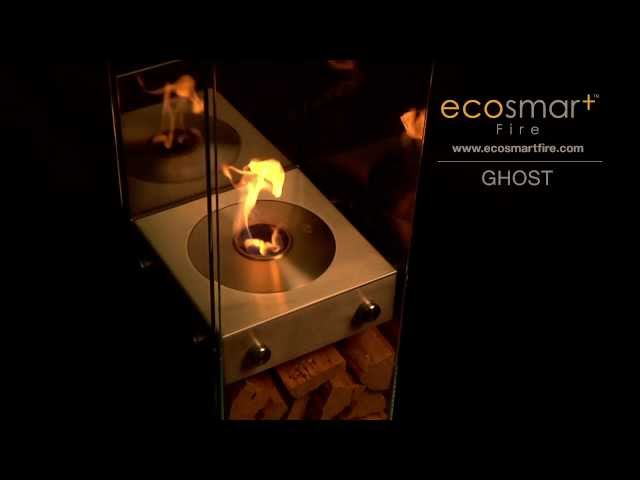 EcoSmart Fire Ghost Design Fireplace