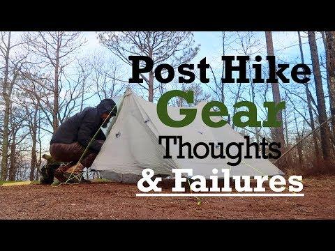 Post Pinhoti Trail Gear Thoughts & Failures