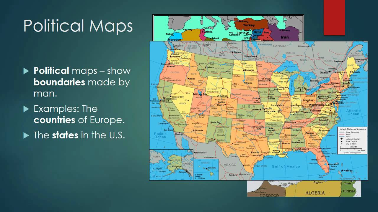 medium resolution of Types of Maps - YouTube