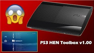 HEN Toolbox v1.00 Adds a Lot of functionality to your PS3 XMB Slim/Super Slim