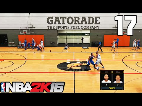 Let's Play NBA 2K16 Deutsch German [17] - My Career: Das neue Gatorade Live-Training