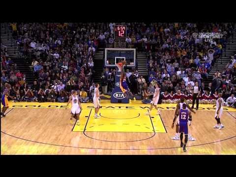 12 22 2012   Lakers vs  Warriors   Team Highlights